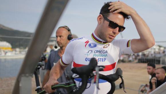 Cavendish habría sido atacado con orín en rechazo a una caída que provocó en el Tour de France 2013. (AP)