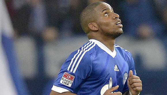 Farfán anotó en la reciente victoria del Schalke ante el Mainz. (AP)