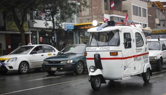 Mototaxis cuentan con equipos de primeros auxilios. (Difusión)