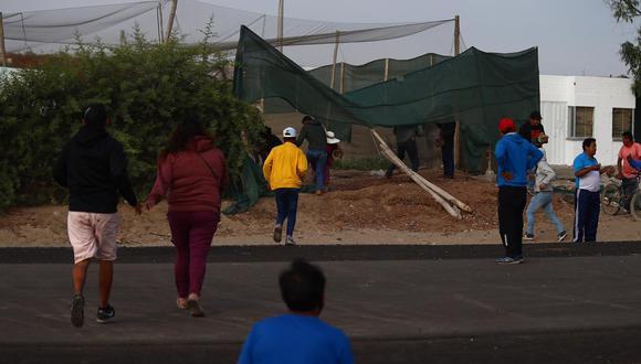 Puno: pobladores de Caracoto bloquearon con piedras la vía a Juliaca (Foto referencial: GEC)
