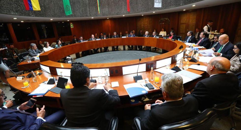XLV Consejo Andino de Ministros de Relaciones de la Comunidad Andina -CAN. (Andina)