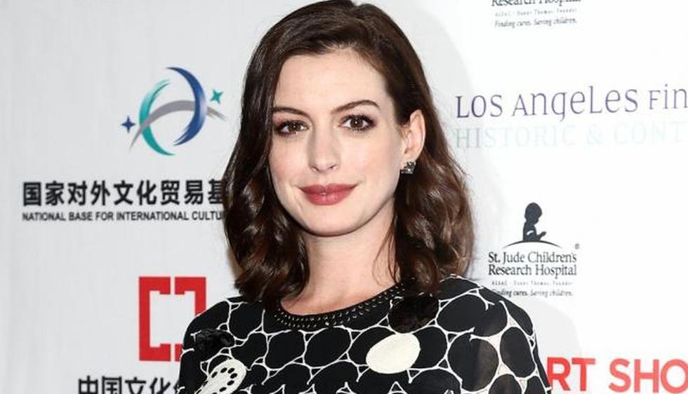 Anne Hathaway reveló los motivos por los que dejará de beber alcohol hasta que su hijo cumpla 18 años. (Foto: EFE)
