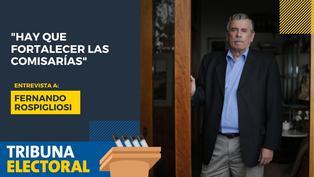 """Fernando Rospigliosi: """"Hay que fortalecer las comisarías"""""""