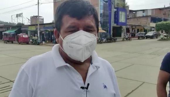 El alcalde del distrito de Vizcatán del Ene, Alejandro Atao Guerreros, confirmó a Perú21 la autenticidad de los panfletos que el grupo terrorista dejó en la zona. (FOTO: Junior Meza)