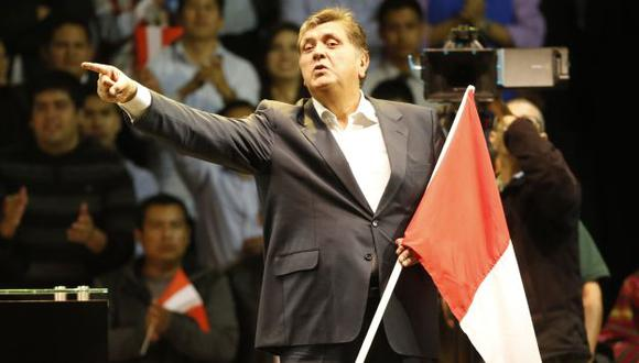 Salta en un pie. Juez que dirimirá caso de Alan García tiene vínculos con el partido de la estrella. (Mario Zapata)
