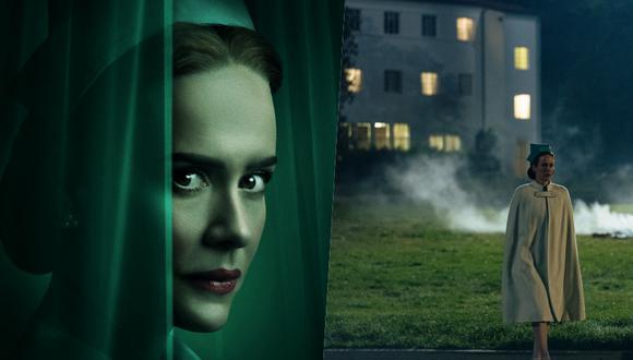 Ian Brennan, productor de Ratched, reconoció que sería difícil imaginarse a alguien más en el papel de la icónica enfermera que no fuera Sarah Paulson. (Foto: Netflix.)
