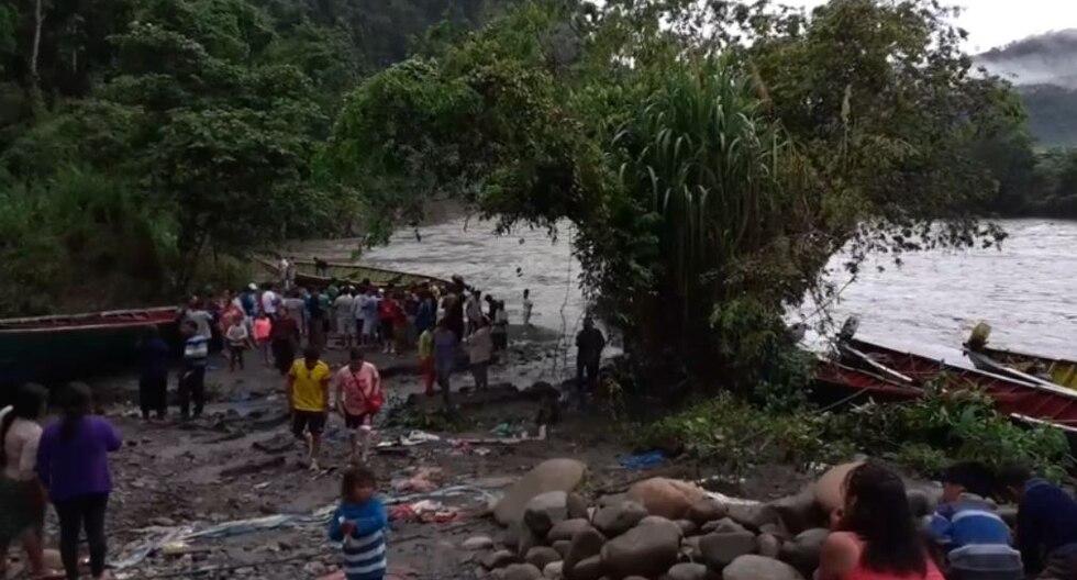 Continúan las labores de rescate de los desaparecidos del naufragio. (Foto: RVA Radio)