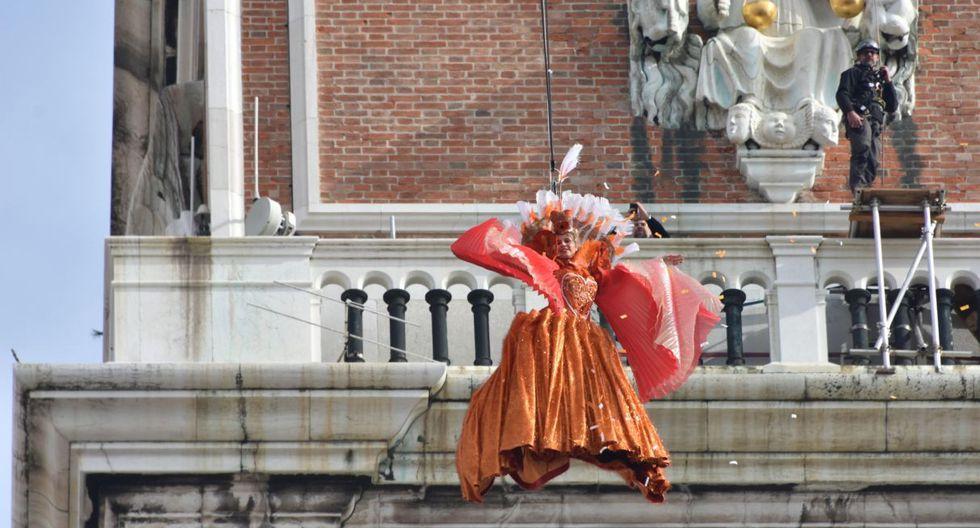 """Este año el carnaval de Venecia está bajo el lema """"El juego, el amor y la locura""""(EFE)."""