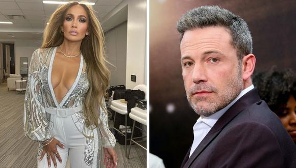 Ben Affleck y Jennifer Lopez dieron mucho que hablar con su relación a inicios del 2000. (Foto: Instagram @jlo / Jean-Baptiste Lacroix / AFP)