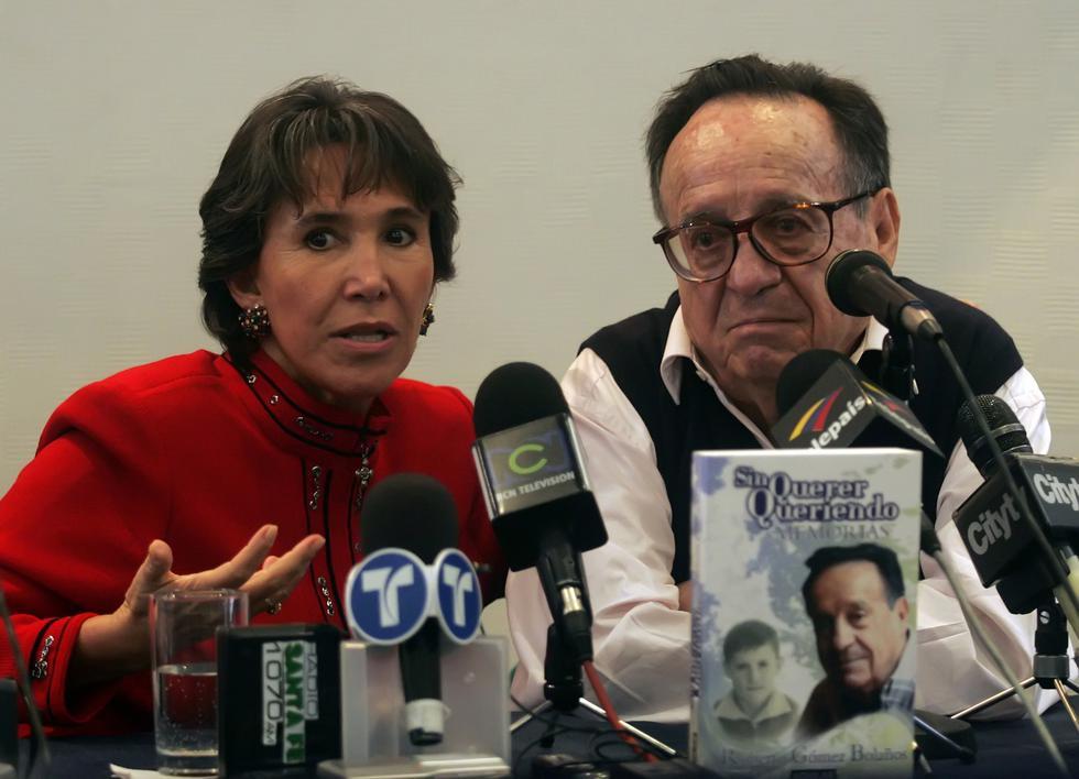 El actor y productor Roberto Gómez Bolaños perdió la vida el 28 de noviembre de 2014. (Fotos: AFP)