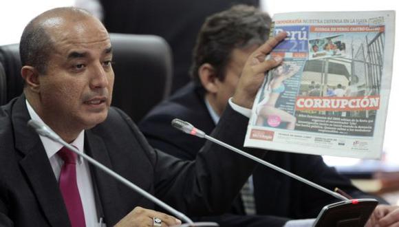 SALIÓ A LA LUZ. Tal como lo dijo Perú21, altos funcionarios conocieron de la juerga en Castro Castro. (David Vexelman)