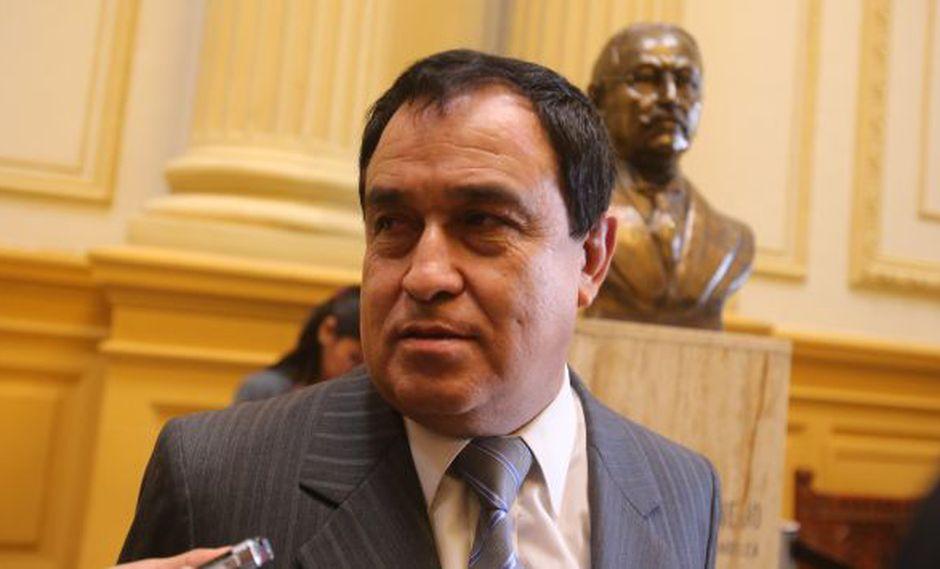 Fedy IOtárola dijo que de llegar el pedido se vera en el Congreso el caso del ministro Urresti. (USI)