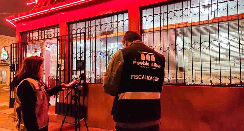 También serán sancionados todos los que utilicen fuegos artificiales sin permiso y sin seguridad. (Municipalidad de Pueblo Libre)