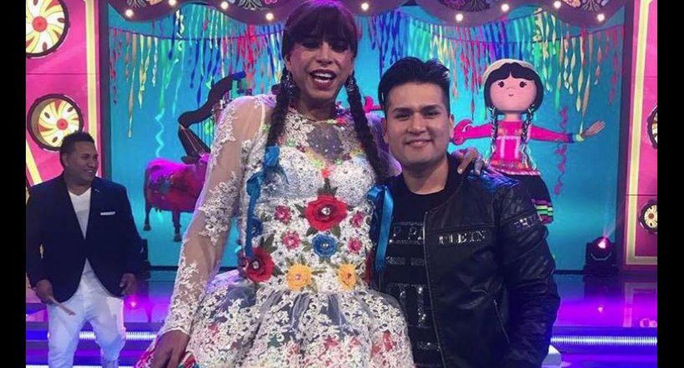 Ernesto Pimentel como 'La Chola Chabuca', su más conocido y exitoso personaje en televisión. | Facebook