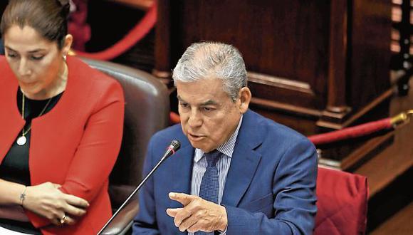 SUSTENTACIÓN. Premier defenderá solicitud del Gobierno.(Mario Zapata/Perú21)