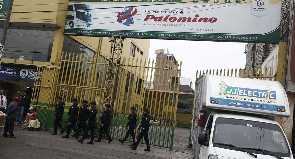 Empresa de transporte Palomino  (Perú21)