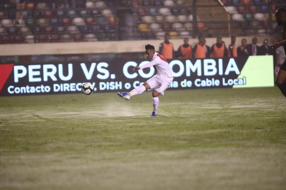 Christian Cueva anotó ante Costa Rica. (Giancarlo Ávila/GEC)