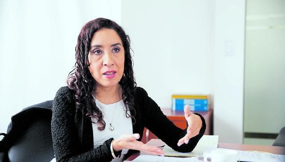 Giovanna Prialé, presidenta de la AAFP. (Foto: GEC)