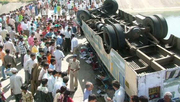 La india es el país del mundo con mayor número de muertos en las carreteras. (clarinveracruzano.com/Referencial)