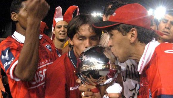 Cienciano se coronó campeón de la Copa Sudamericana 2003 tras vencer a River Plate. (Foto: Conmebol)