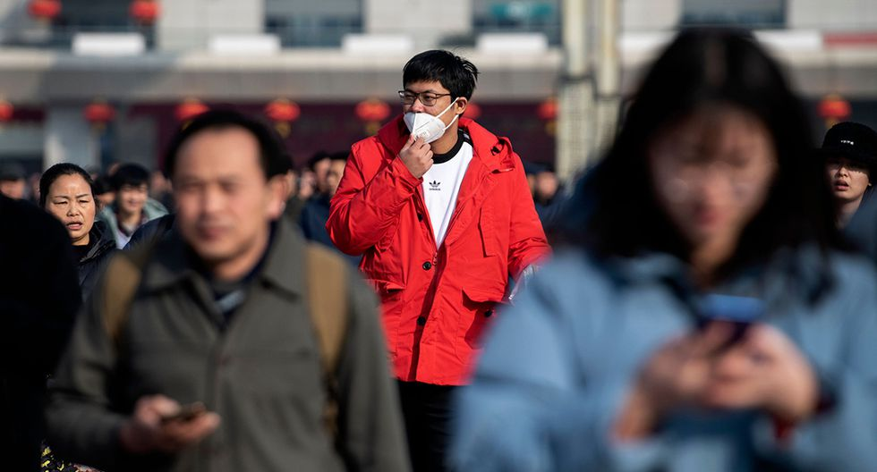 Un misterioso virus similar al SARS mató a una tercera persona y se extendió por China, incluido Beijing, dijeron las autoridades. (Foto: AFP)