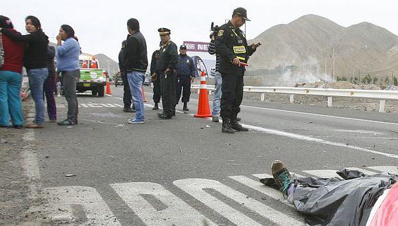 San Juan de Miraflores: Muere atropellado cuando cruzaba Panamericana Sur. (USI/Referencial)
