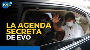 La agenda secreta de Evo