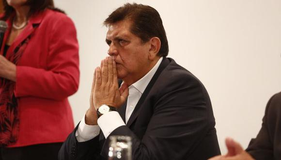 Encuesta no es favorable a la gestión gubernamental de García.