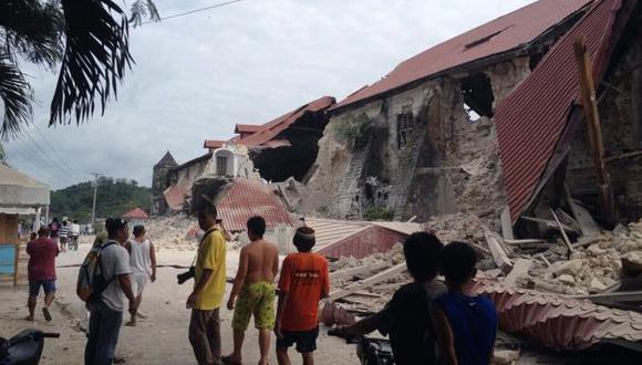 Varias estructuras se derrumbaron. (AFP)