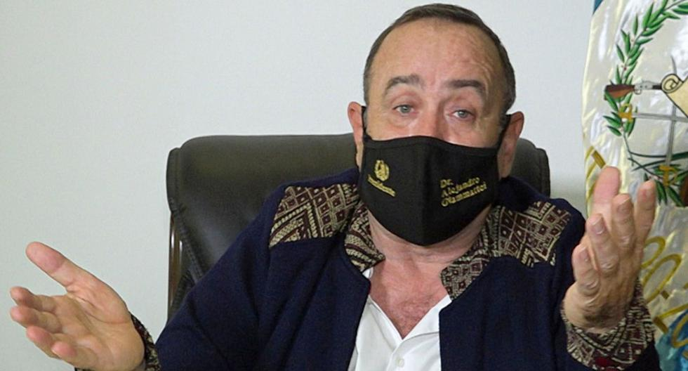 Presidente de Guatemala, Alejandro Giammattei, dio positivo por coronavirus