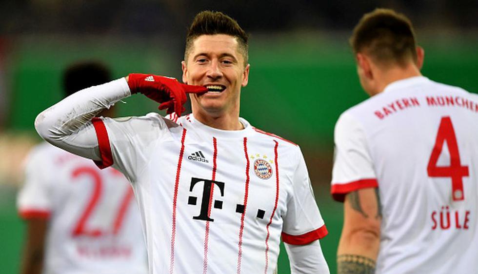 Robert Lewandowski es uno de los mejores delanteros del mundo en la actualidad. (Getty Images)