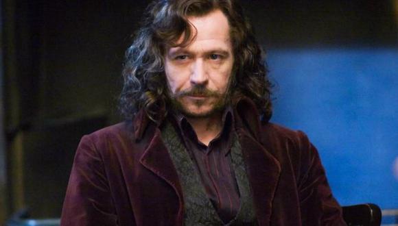 Sirius Black es interpretado en la pantalla grande por Gary Oldman (Foto: Harry Potter)
