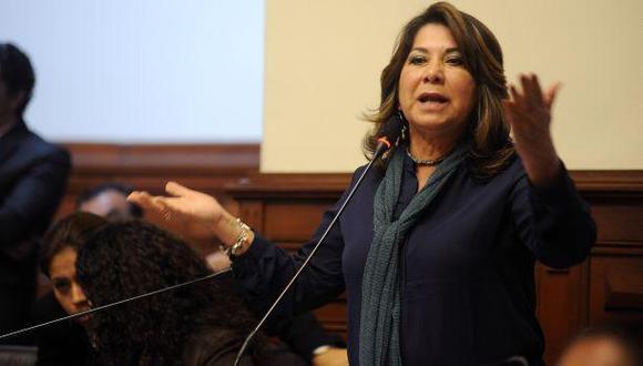 Martha Chávez es denunciada por racismo por sus expresiones contra Vicente Zeballos (Foto: Congreso de la República)