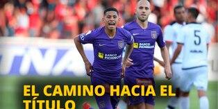 Conozca el camino al título del Clausura por parte de Alianza, Universitario y Cristal [VIDEO]