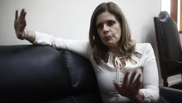 Lo interpreta. Mercedes Aráoz sostuvo que el jefe de Estado no está optando por medidas de fuerza. (Renzo Salazar)