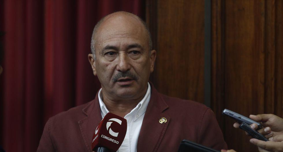 Miguel Elías indicó que en la próxima reunión de la bancada de Fuerza Popular se verá el tema de la filtración del chat. (Foto: GEC)