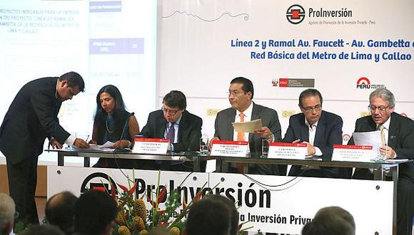 Carlos Paredes defendió la concesión de la Línea 2 del Metro de Lima. (Andina)