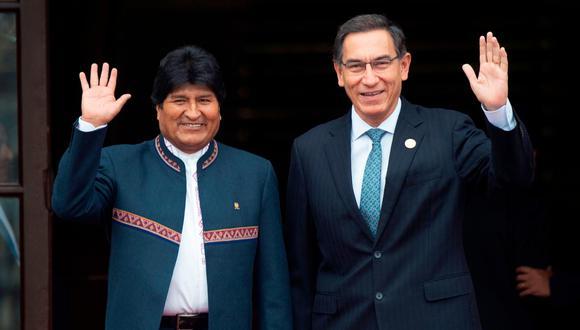 Martín Vizcarra aseguró que avión de México informó que no necesitaba recargar combustible tras recoger a Evo Morales. (AFP)