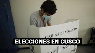 Esta es la situación en los centros de votación del Cusco
