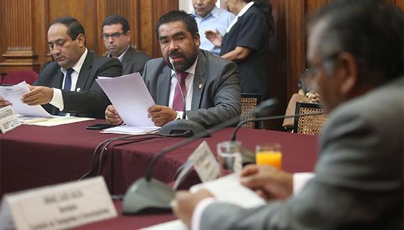 La Comisión de Justicia del Congreso está presidida por Alberto Oliva. (Foto: Agencia Andina)