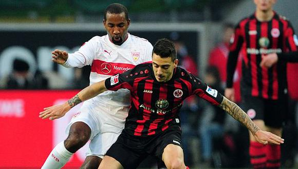Frankfurt sumó tres puntos importantes. (AP)