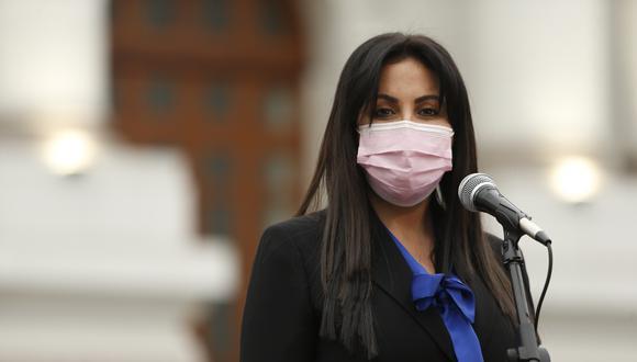 La legisladora Chirinos denunció que Bellido la agredió verbalmente en el Congreso. (Foto: GEC)