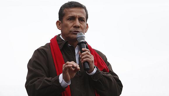 Ollanta Humala no declarará ante la comisión López Meneses, aseguró Josué Gutiérrez, vocero oficialista. (Nancy Dueñas)