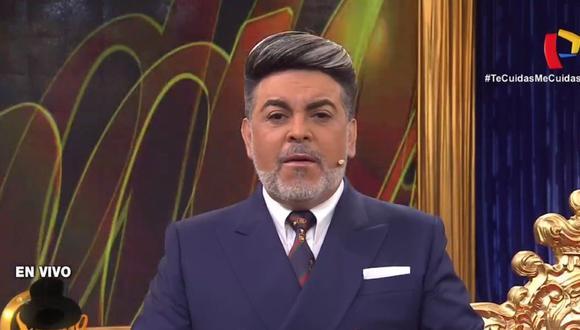 Andrés Hurtado, 'Chibolín', reapareció en su programa. ( Captura: Hoy es sábado con Andrés / Panamericana)