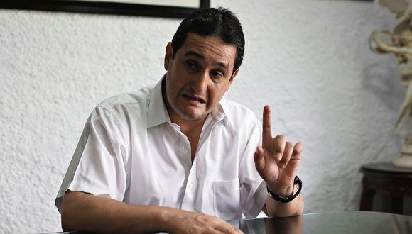 Julio César Castiglioni. Especialista en temas electorales. (Perú21)