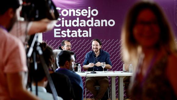 A cinco semanas de las legislativas en España, el izquierdista Pablo Iglesias vuelve ansioso por reflotar a un Podemos desmoralizado. (Foto: EFE)