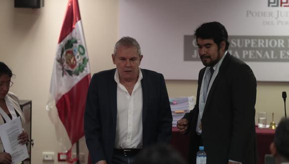 La audiencia de prisión preventiva contra Luis Castañeda Lossio continuará este martes 11 de febrero. (Foto: Hugo Pérez / GEC)
