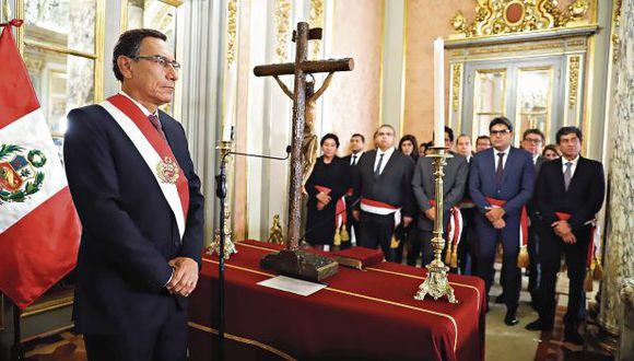 Desde que asumió el mandato, en marzo de 2018, el presidente Martín Vizcarra aceptó la renuncia de 35 ministros. (Foto: Presidencia)