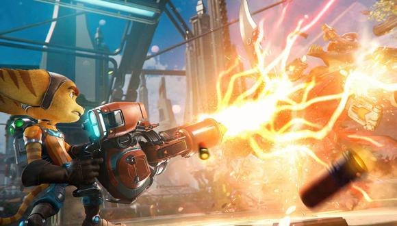 'Ratchet and Clank: Rift Apart' es uno de los principales títulos en llegar próximamente a PlayStation 5.
