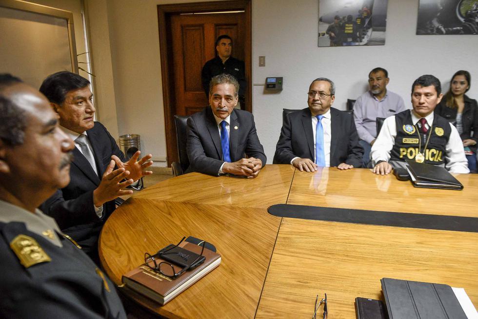 Ministro del Interior anuncia fortalecimiento de los grupos de investigación de la PNP. (Difusión)